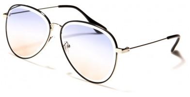 Aviator Color Lens Women's Sunglasses in Bulk M10798
