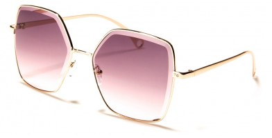 Butterfly Squared Women's Sunglasses Wholesale M10800