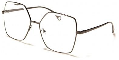Butterfly Clear Lens Women's Wholesale Sunglasses M10801-CLR