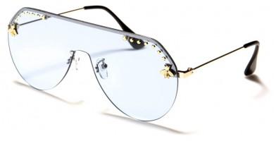 Shield Rimless Women's Bulk Sunglasses M10802
