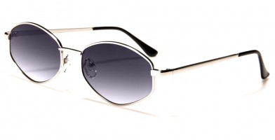 Small Color Lens Women's Wholesale Sunglasses M6341-CO