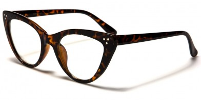 Nerd Cat Eye Women's Wholesale Glasses NERD-097