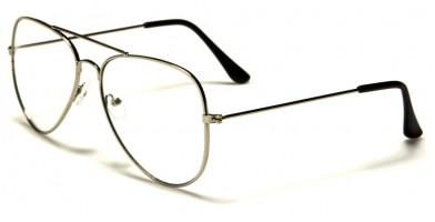 b918f870bf5 ... Nerd Aviator Unisex Glasses Wholesale NERD-101 ...