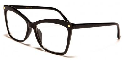 Cat Eye Women's Clear Lens Wholesale Glasses NERD-1218