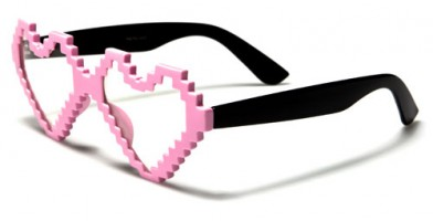 Nerd Heart-Shaped Unisex Bulk Glasses NERD024