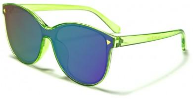 Cat Eye Flat Lens Women's Bulk Sunglasses P30183-FT-CM