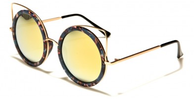 Round Women's Sunglasses Wholesale P30258