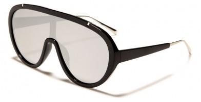 Shield Oval Unisex Wholesale Sunglasses P30359