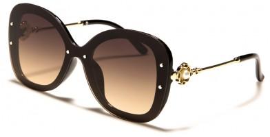 Rimless Butterfly Women's Sunglasses Wholesale P30360