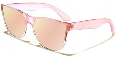 Classic Pink Lens Women's Wholesale Sunglasses P6199-FT-PINK