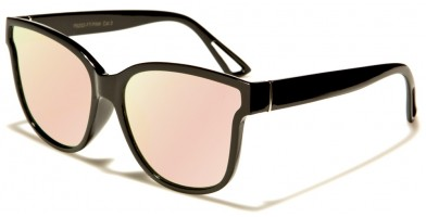 Classic Pink Lens Unisex Sunglasses Wholesale P6202-FT-PINK