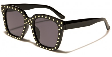 Classic Studded Women's Bulk Sunglasses P6236-STUDS