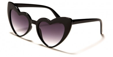 Heart Shaped Fashion Wholesale Sunglasses P6349-HEART