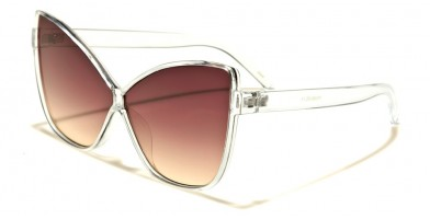 Butterfly Oceanic Lens Women's Bulk Sunglasses P6355-OC