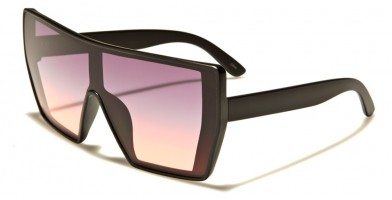 Shield Oceanic Lens Unisex Sunglasses Wholesale P6357-OC