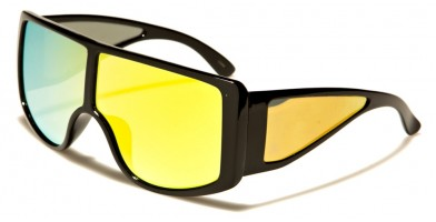 Shield Oversized Unisex Sunglasses Wholesale P6361-CM