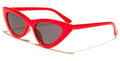 Cat Eye Vintage Look Women's Sunglasses Wholesale P6383