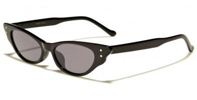 Cat Eye Color Lens Women's Bulk Sunglasses P6449