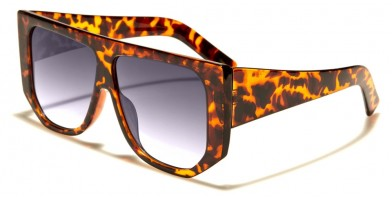 Square Flat Top Unisex Wholesale Sunglasses P6458