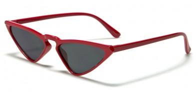 Cat Eye Color Lens Women's Sunglasses in Bulk P6468