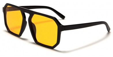 Square Color Lens Unisex Wholesale Sunglasses P6470-CO