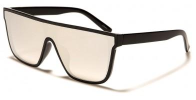 Flat Top Rectangle Unisex Sunglasses in Bulk P6531