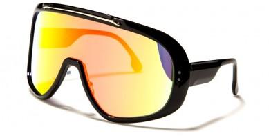 Shield Oval Unisex Sunglasses Wholesale P6556-CM