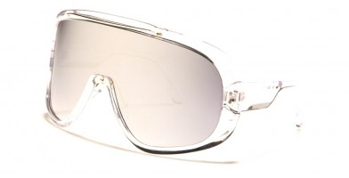 Shield Oval Unisex Wholesale Sunglasses P6556