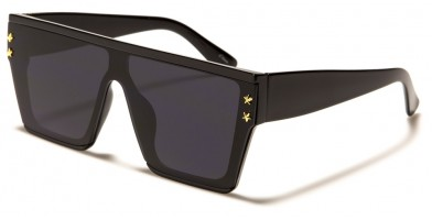 Flat Top Square Unisex Wholesale Sunglasses P6558