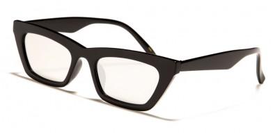 Cat Eye Thin Frame Women's Sunglasses Wholesale P6563
