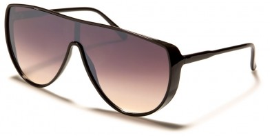 Oval Shield Unisex Wholesale Sunglasses P6588