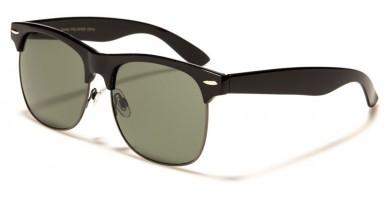Glass Lenses Classic Unisex Sunglasses Wholesale P9133-GL