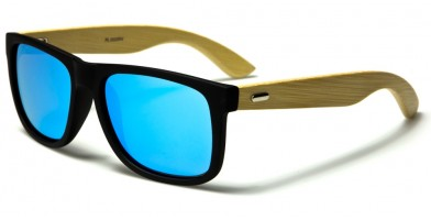 Classic Bamboo Polarized Wholesale Sunglasses PL-2025-RV