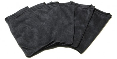 Black Nylon Wholesale Pouches POUCH-A13