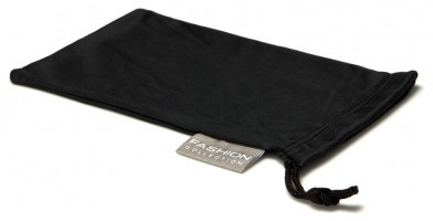 Black Fashion Microfiber Pouches Wholesale POUCH-A15BLK