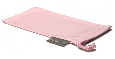 Pink Fashion Microfiber Wholesale Pouches POUCH-A15PNK