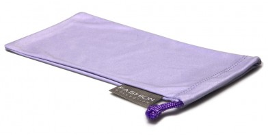 Purple Fashion Microfiber Wholesale Pouches POUCH-A15PPL