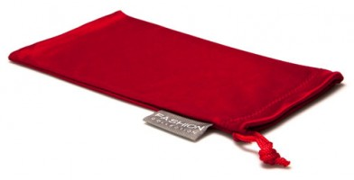 Red Fashion Microfiber Pouches Wholesale POUCH-A15RED
