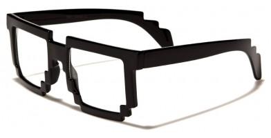 Pixel Classic Unisex Glasses In Bulk PX01BKCL