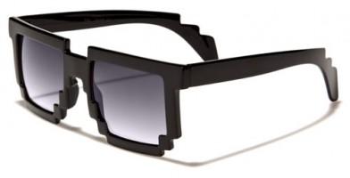 Pixel Classic Unisex Sunglasses In Bulk PX01BKGD