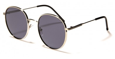 Round Classic Polarized Sunglasses in Bulk PZ-711033