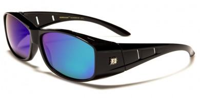 Barricade Polarized Fit-Over Sunglasses in Bulk PZ-BAR603-RV