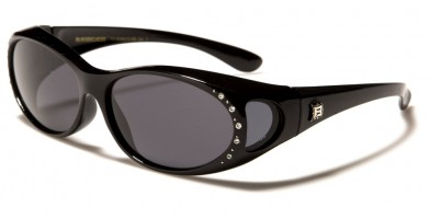 Barricade Polarized Fit-Over Bulk Sunglasses PZ-BAR615-RS
