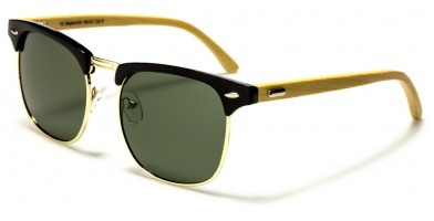 Superior Bamboo Polarized Bulk Sunglasses PZ-SUP89002