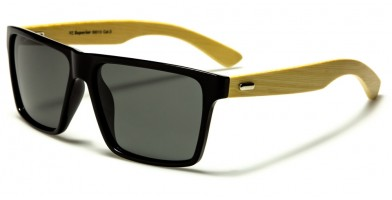 Superior Bamboo Polarized Wholesale Sunglasses PZ-SUP89013