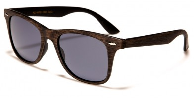Classic Polarized Wood Print Sunglasses Bulk PZ-WF01-WD