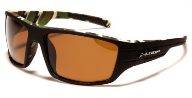 X-Loop Camouflage Wholesale Polarized Sunglasses PZ-X2596