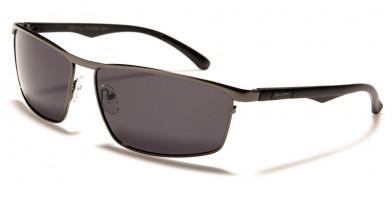 X-Loop Polarized Aluminum Temples Bulk Sunglasses PZ-XL35001
