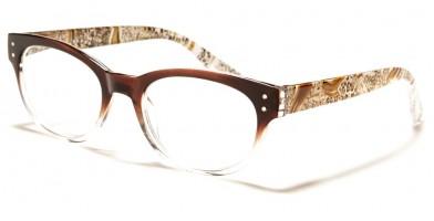 Oval Women's Reading Glasses in Bulk R399-ASST