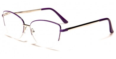 Semi-Rimless Women's Readers R613-ASST